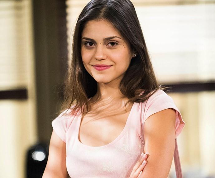 Jessika Alves viveu Guiomar na novela Em Família (Foto: Alex Carvalho/Globo)