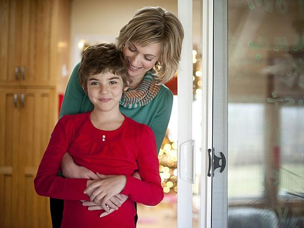 Menina leucemia (Foto: Jeff Swensen/The New York Times)