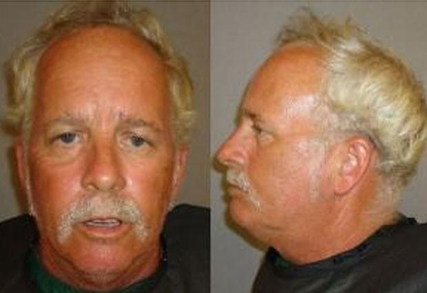 Marty R. Parrish foi preso por andar nu em calçadão. (Foto: Divulgação)
