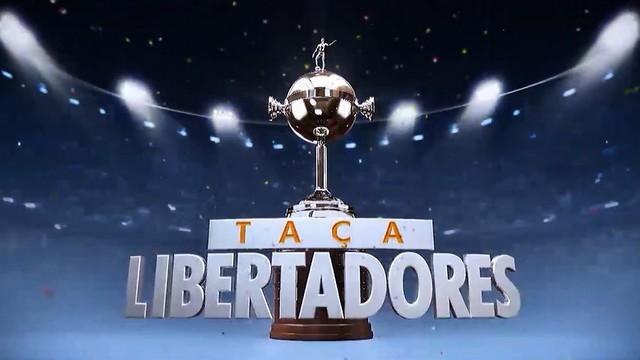 Disputa da Taça Libertadores  (Foto: reprodução/Rede Clube)