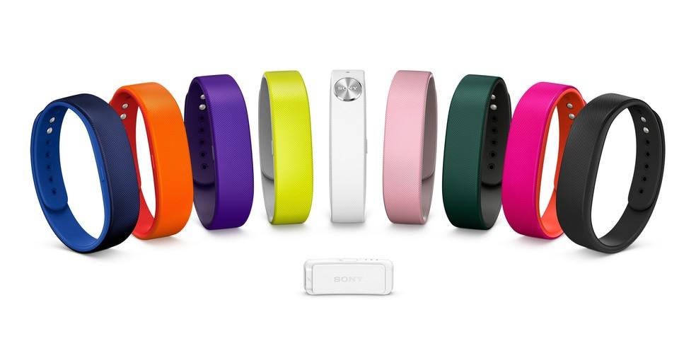 SmartBand monitora atividades diárias com ajuda de sensores na pulseira  (Foto: Divulgação/Sony)