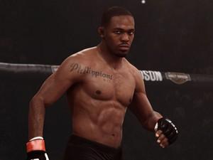Visual de Jon Jones em 'EA Sports UFC': parte gráfica é um destaque (Foto: Divulgação/EA Sports)