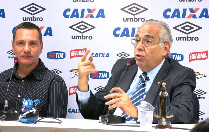 Eurico Miranda, Coletiva Vasco (Foto: Edgard Maciel)