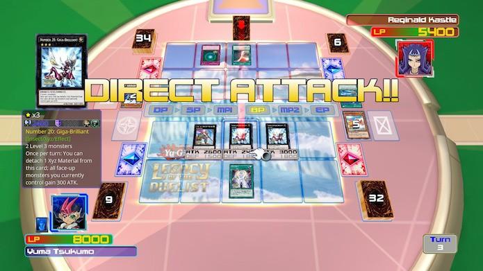 Yu-Gi-Oh! Legacy of the Duelist explora todas as gerações do anime (Foto: Reprodução/Victor Teixeira)