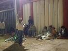 Grupo dorme em fila para garantir vaga em escola do DF para os filhos