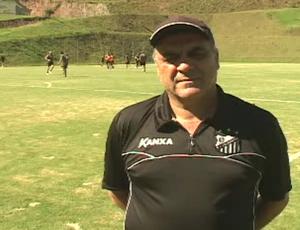 Vagner Benazzi, técnico do Bragantino (Foto: Reprodução/ TV Vanguarda)