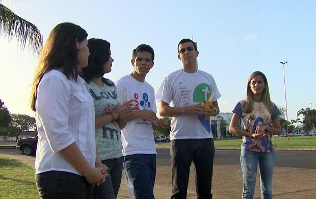 Jovens de Roraima planejam a participação na Jornada Mundial da Juventude (Foto: Bom Dia Amazônia)