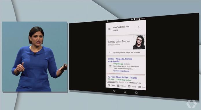 Now on Tap vai trazer novas funcionalidades para o Google Now (Foto: Reprodução/Google)