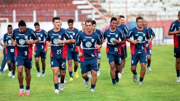 Guaratinguetá treino (Foto: Fábio Rubinato/Guaratinguetá)