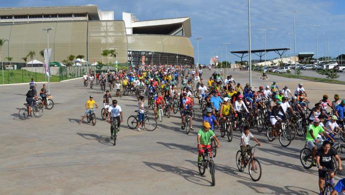 Pedal Centro América (Foto: Divulgação)