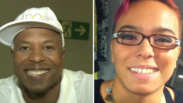 Buchecha e Maria Gadú caem dentro da campanha! (Cheias de Charme / TV Globo)