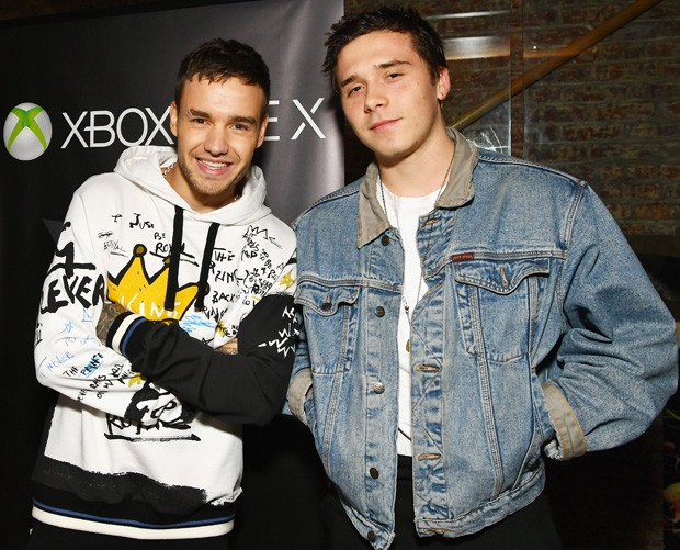 Liam Payne e Brooklyn Beckham (Foto: Getty Images)