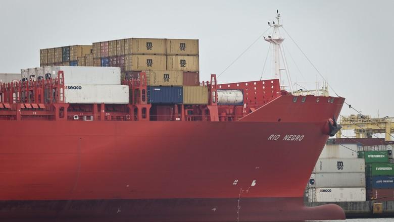 agricultura_navio_porto (Foto: Marcelo Curia/Editora Globo)