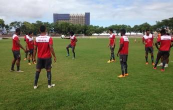Sergipe inicia preparação para jogo com Japão e despedida da temporada