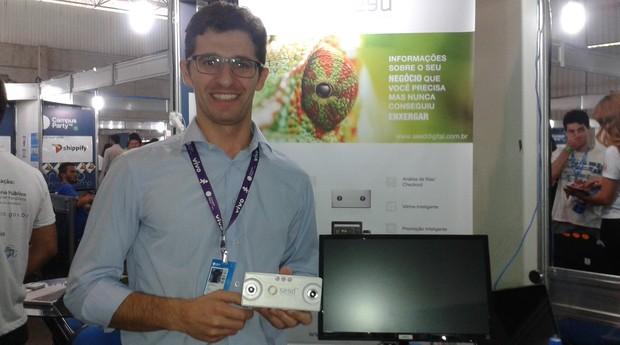 Sidnei Raulino é um dos fundadores da startup Seed (Foto: Isabela Moreira)