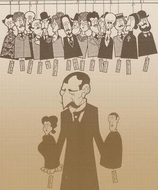Eça  e personagens: qual deles será o Pacheco? (Foto: Centro Nacional de Cultura, Portuga)