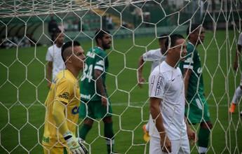 """Goleiro da Chapecoense leva """"defesa da rodada"""" ao impedir gol de Robinho"""
