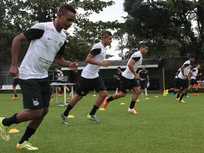 Santos Reapresentação (Foto: Vinicius Vieira/Divulgação Santos FC)