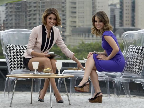 Sandy faz uma participação especial na trama de Maria Adelaide Amaral (Foto: TV GLOBO / Bob Paulino)