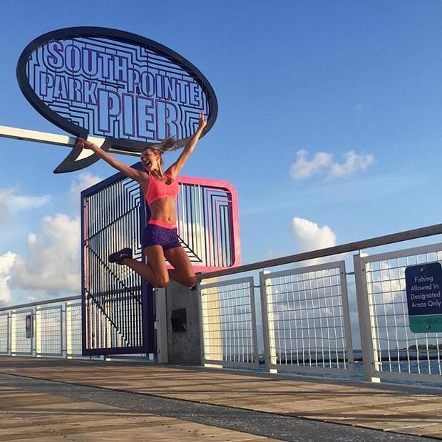 Ana Paula Siebert em Miami, nos Estados Unidos (Foto: Instagram/ Reprodução)