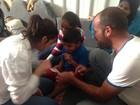 Bruna Marquezine visita campo de refugiados na Jordânia