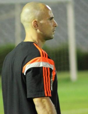 Celso Silva - técnico do Flamengo (Foto: Emanuele Madeira/Globoesporte.com)
