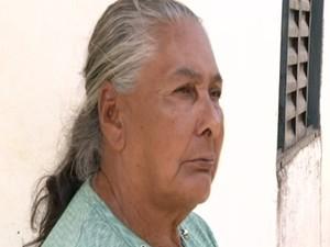 Divina Bicudo dos Santos entrou com um pedido de guarda do neto (Foto: Reprodução/TV Anhanguera)