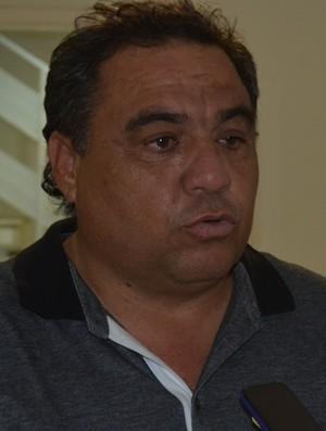 Tiko Miudezas, presidente do Paraíba de Cajazeiras (Foto: Larissa Keren / GloboEsporte.com)