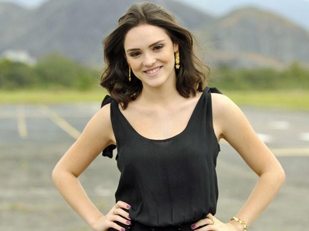 Isabelle diz que Cida foi um marco em sua carreira (Foto: Cheias de Charme / TV Globo)