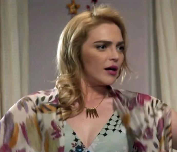 Ruty Raquel em crise! (Foto: TV Globo)