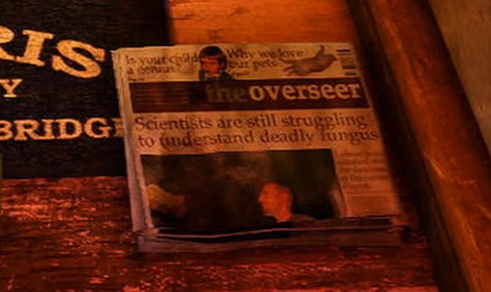 Jornal prevê acontecimentos de The Last of Us (Foto: Reprodução/UnchartedWikia)