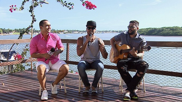 Alegria e suingue direto da Bahia (Foto: TV Sergipe)