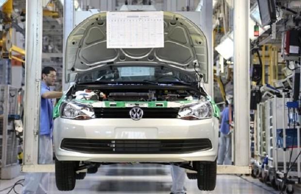 Fábrica da Volkswagen (Foto: Comunicação Volkswagen do Brasil)