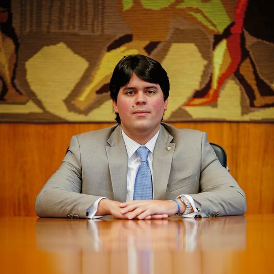 O deputado André Fufuca (Foto:  Sérgio Lima/ÉPOCA)