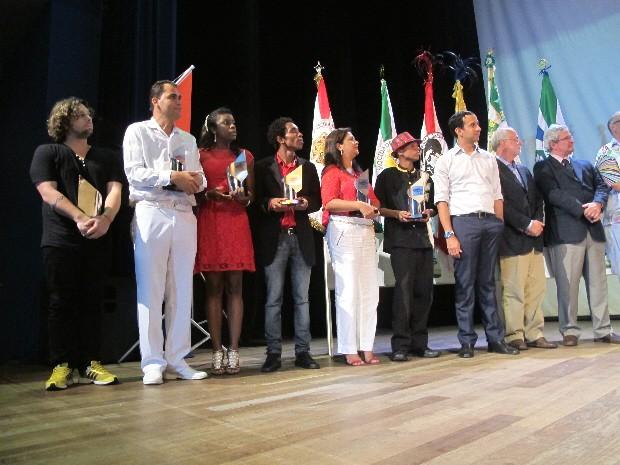Bandeirantes do Saboó venceu todos os prêmios do Grupo de Acesso (Foto: Rodrigo Martins/ G1)