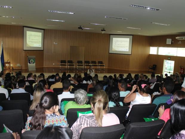 Representantes de 86 cidades participaram do encontro. (Foto: Valdivan Veloso/G1)