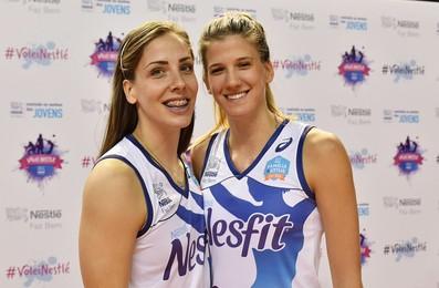 As sérvias Malesevic e Bjelica são as principais novidades da equipe paulista (Foto: João Pires)