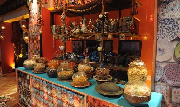 Produtos típicos da cultura turca presentes em Salve Jorge (Foto: Crédito: TV GLOBO / João Miguel Júnior)