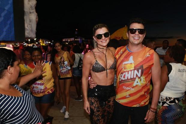 Ceará e Mirela chegam no trio de Ivete Sangalo (Foto: Dilson SIlva /AgNews)