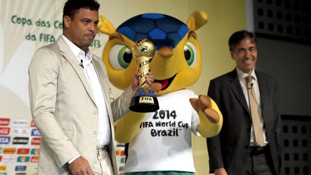 ronaldo copa das confederações espanha (Foto: EFE)