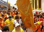 Agitação e calor movem bloco 'Panela de Pressão' em Olinda (Diego Moraes/G1)