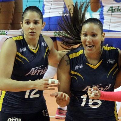 Campinas vôlei feminino (Foto: Felipe Christ / Amil)