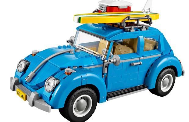 Kit da Lego para montar VW Fusca tem 1.167 peças (Foto: Divulgação)