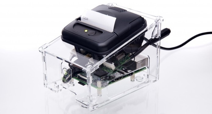 Impressora térmica não precisa de tinta e tem design compacto (Foto: Divulgação/Pipsta)