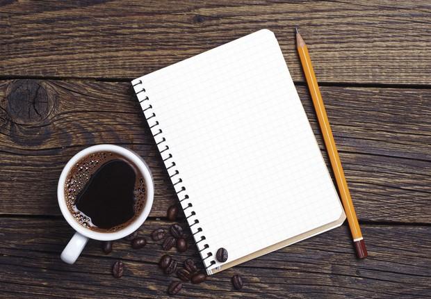 produtividade; café; empresa; caderno; hábito; rotina; manhã (Foto: Thinkstock)