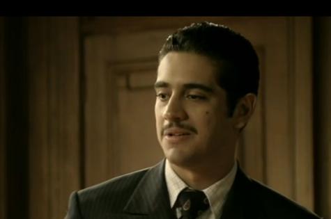 Miguel Rômulo é Décio em 'Joia rara' (Foto: Reprodução)