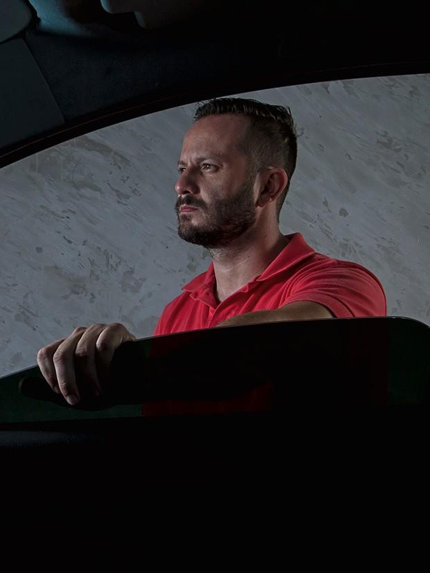 Empresa;Uber;Almeida, motorista Desilusão com os ganhos e violência na cidade o levaram a desistir do Uber (Foto: Rogério Albuquerque)