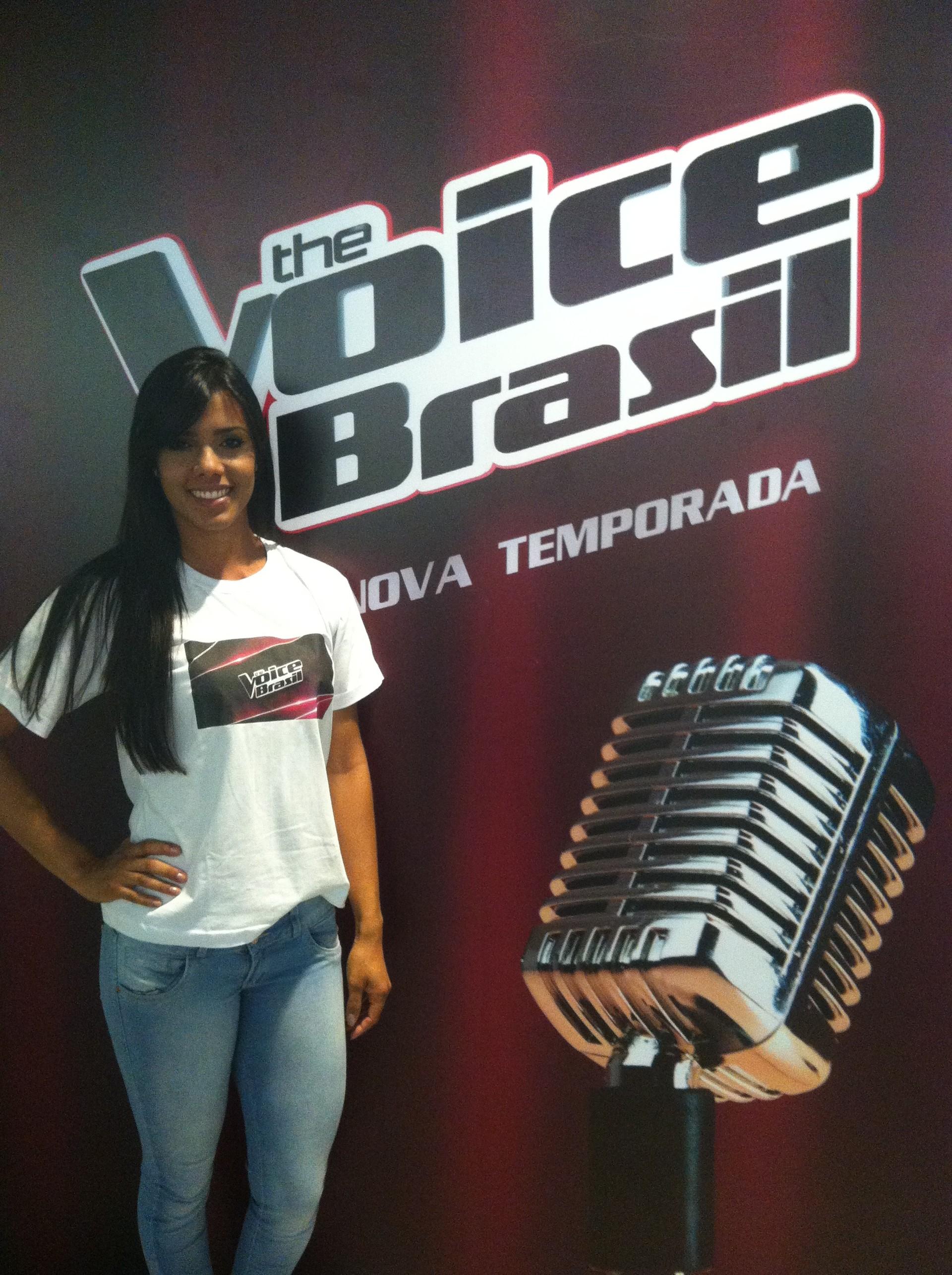 Lançamento do The Voice em Salvador (Foto: Adriana Almeida)