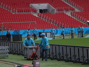 Beira-Rio recebe ajustes para Copa do Mundo  (Foto: Diego Guichard)