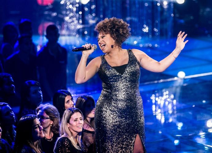 Agnes Jamille foi a escolha do público no time Brown (Foto: Isabella Pinheiro/Gshow)